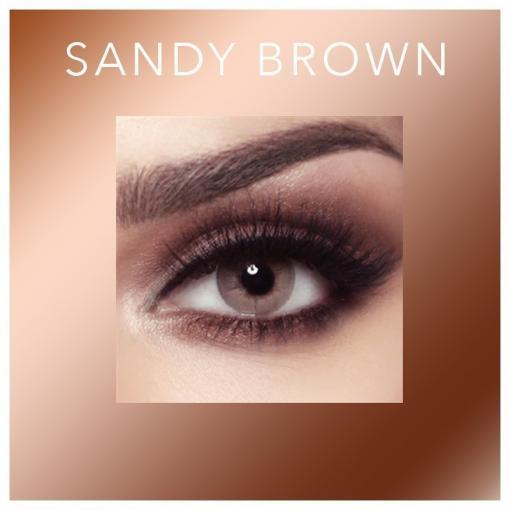 Bella Elite - Sandy Brown - Lentilles Maroc