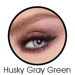 Bella Glow Husky Gray Green Lentilles Maroc