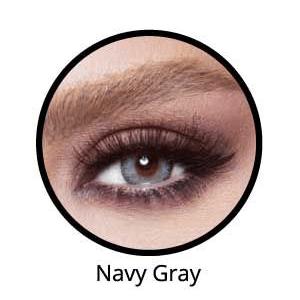 Bella Glow Navy Gray Lentilles Maroc
