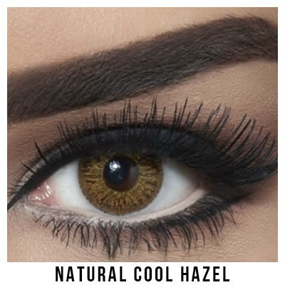 Bella Natural Collection Cool Hazel Lentilles Maroc