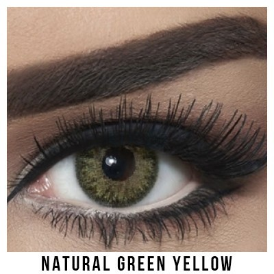 Bella Natural Collection Green Yellow Lentilles Maroc