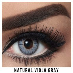 Bella Natural Collection Viola Gray Lentilles Maroc