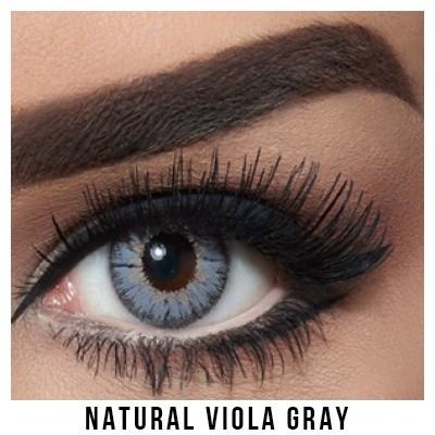 Bella Natural Collection Viola Gray Lentilles Maroc