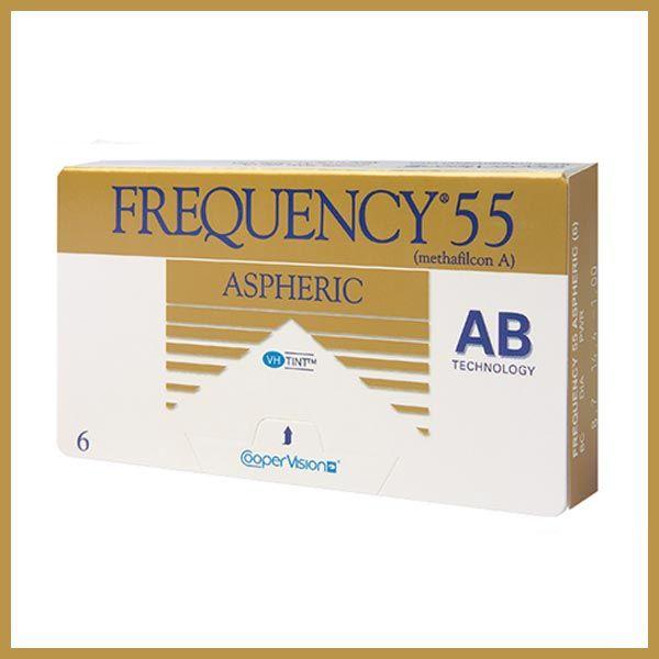 Frenquency-55-Aspheric-CooperVision-LentillesMaroc
