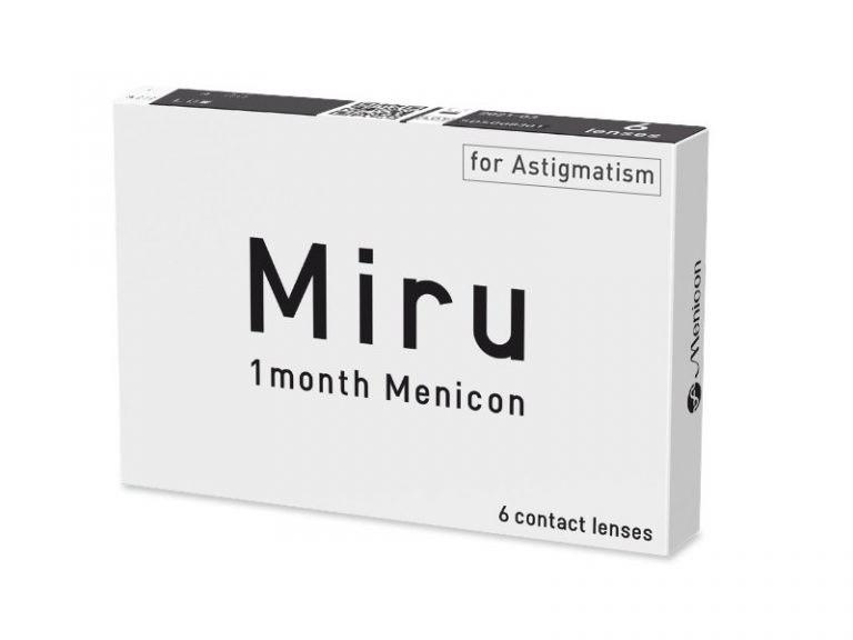 Miru 1Month Menicon For Astigmatisme dfb918ba574c