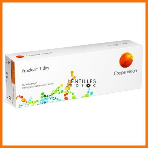 Proclear 1 Day CooperVision Lentilles Maroc