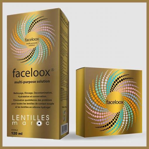 faceloox gold lentilles lens