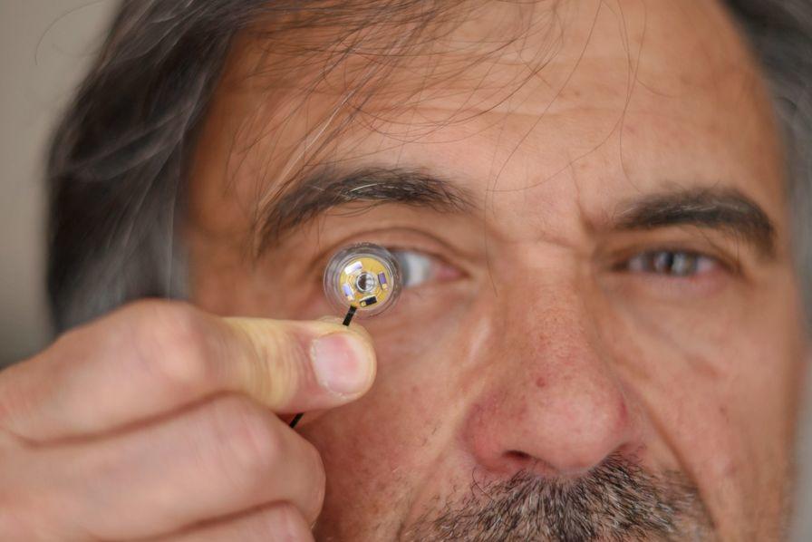 lentilles de contact connectées
