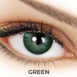 adore contact lenses - dare green