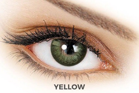 adore contact lensadore contact lenses - dare yellow