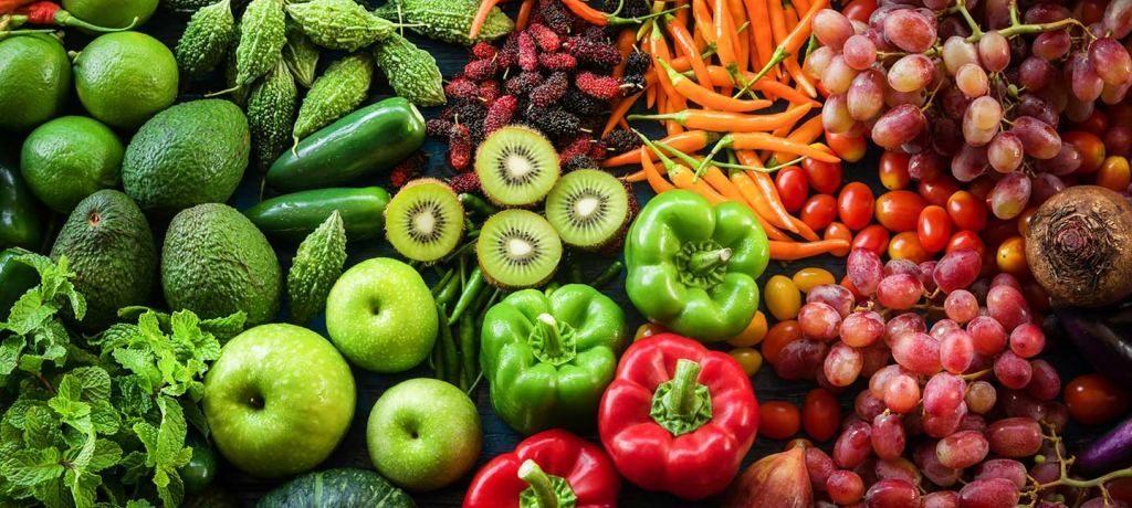 pannier legumes fruits lentilles