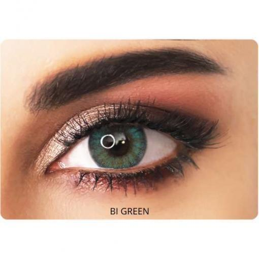 adore contact lenses bi-green