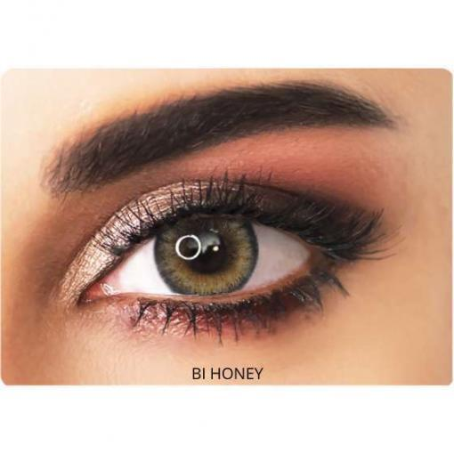 adore contact lenses bi-honey