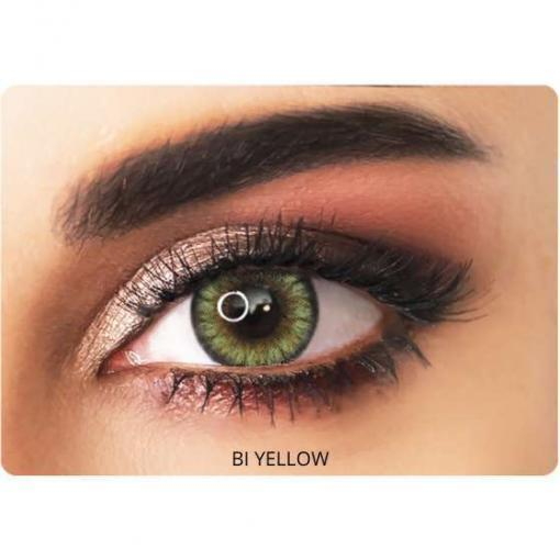adore contact lenses bi-yellow