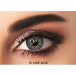 adore contact lenses - tri light blue