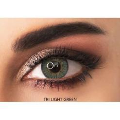adore contact lenses - tri light green