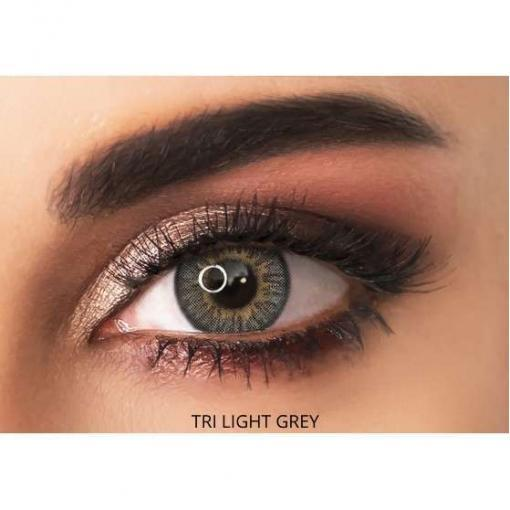 adore contact lenses - tri light grey