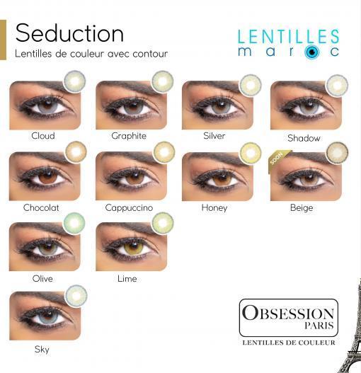 obsession seduction lentilles de couleur-lentilles maroc