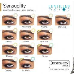 obsession sensuality lentilles de couleur-lentilles maroc