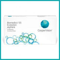 Biomedics 55 Evolution - Lentilles Maroc