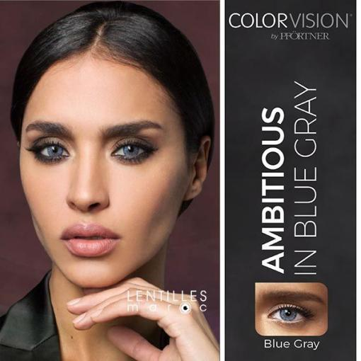 colorvision lenses blue gray