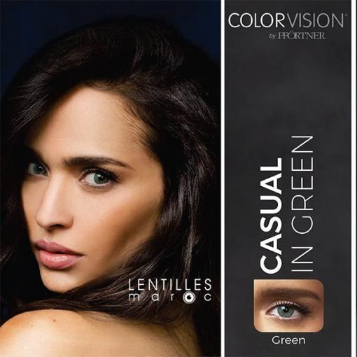 colorvision lenses green